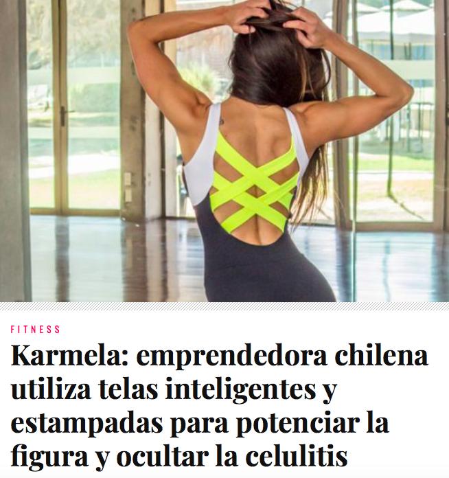 Karmela en Mujeryestilo.cl